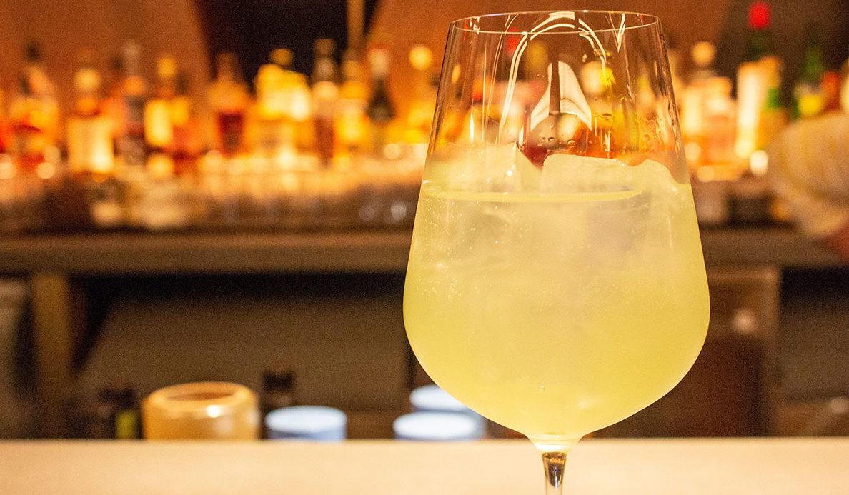 Yellow Cocktail, Kawi Hudson Yards