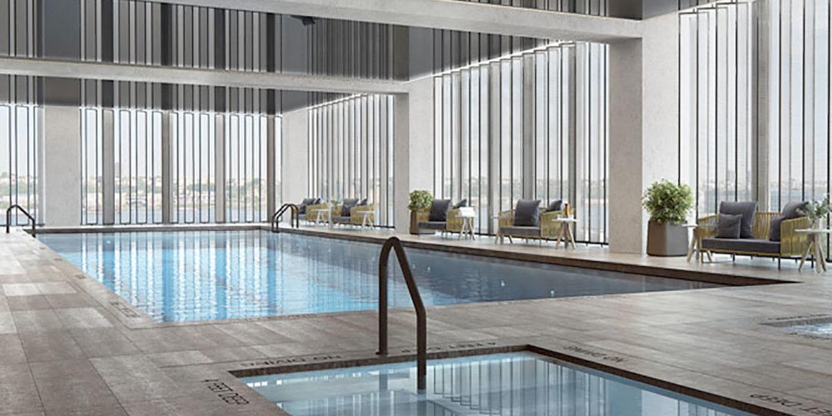 Equinox Hotel Pool, Interior Pool, Equinox Hotel, Luxury Pool, Equinox Hotel Hudson Yards