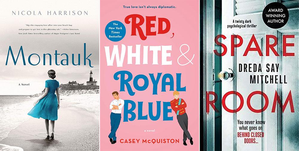 Summer Beach Reads, Beach Reads, Montauk, Red, White & Royal Blue, Spare Room