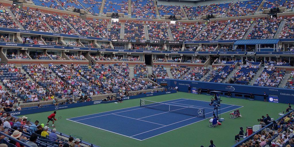 Arthur Ashe Stadium, US Open, Tennis Players, Tennis Match, Tennis Match Arthur Ashe Stadium