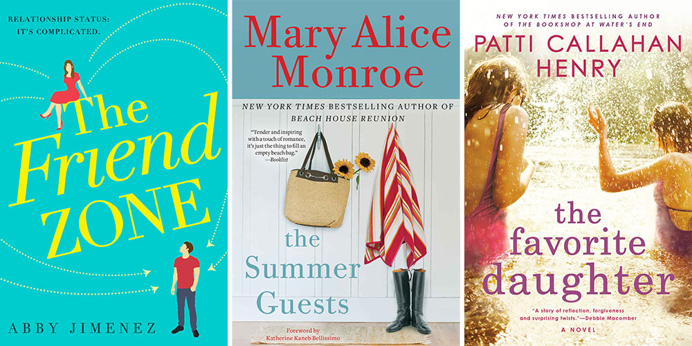 Summer Beach Reads, Best Summer Books, The Friend Zone, The Summer Guests, The Favorite Daughter