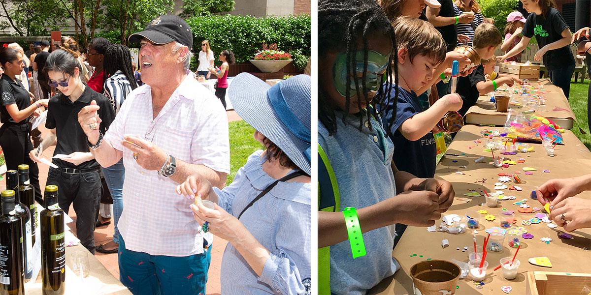 olive oil, tastings, eataly, kids, the craft studio, fun diy activities