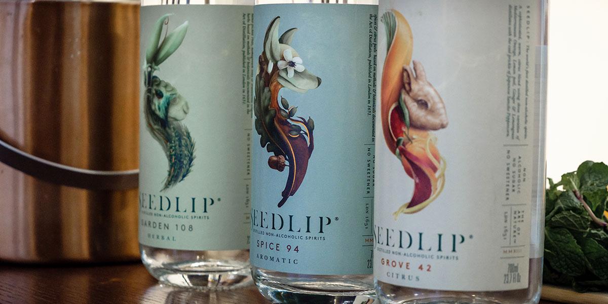 Seedlip, seedlip drinks, seedlip non alcoholic beverages