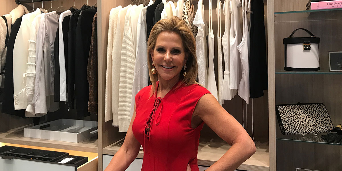 Lisa Jacobs Imagine It Done, Imagine it Done, Woman Standing in Closet, Closet Organizer