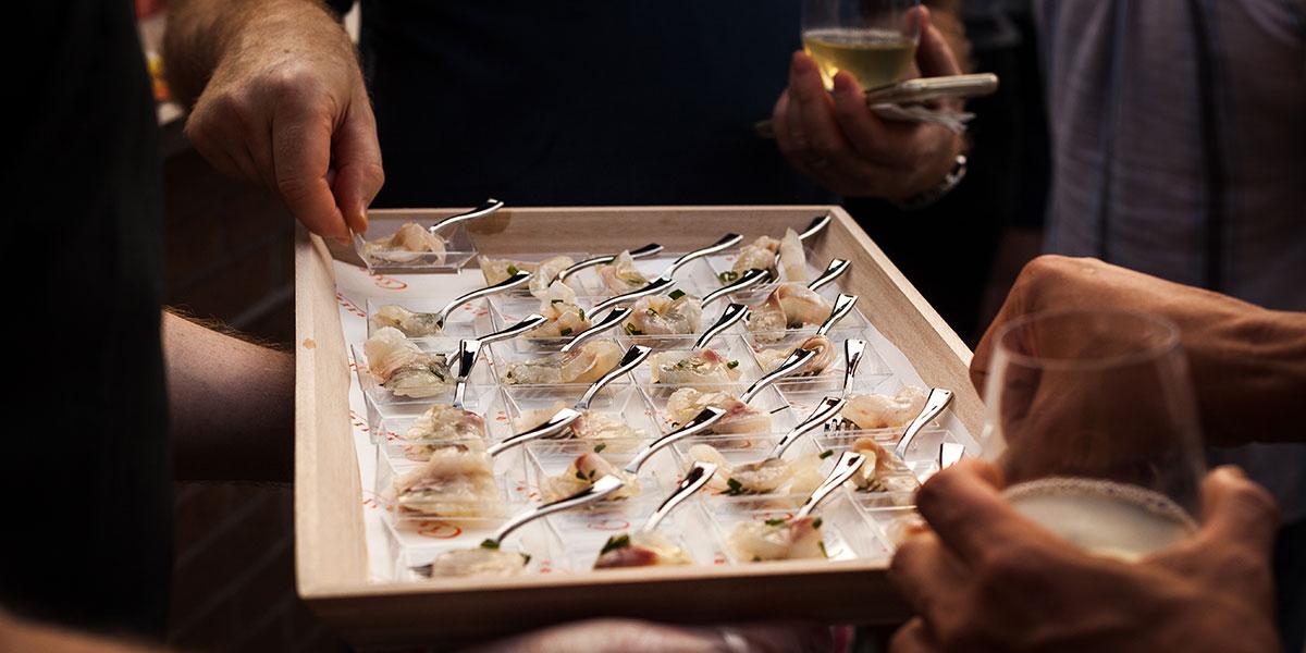 branzino tartar, Citarella's, Joe Gurrera recipes