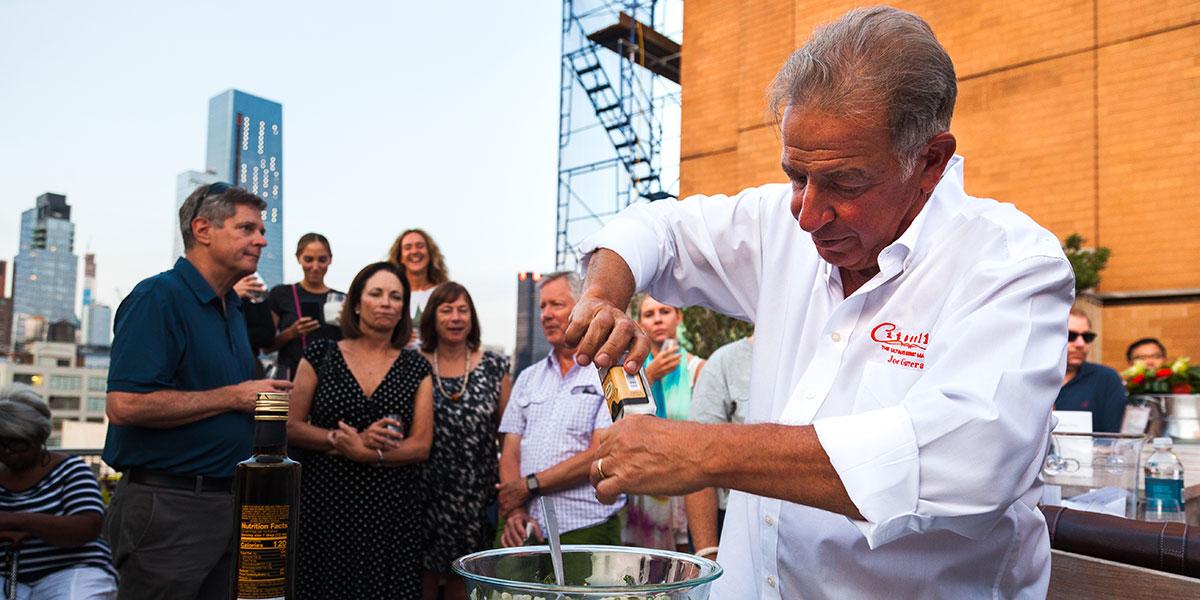 Branzino tartar, Joe Gurrera, Joe Gurrera Citarella's, Citarella's