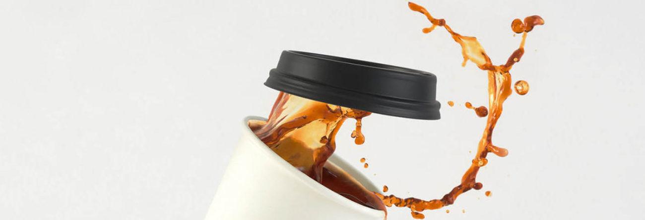 coffee cup, coffee cup spilling, coffee spilling everywhere