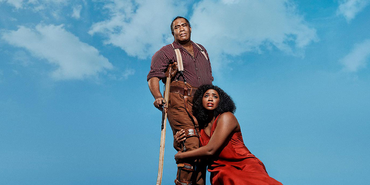 """""""Porgy and Bess"""" at the Metropolitan Opera, Porgy and Bess, october in new york"""