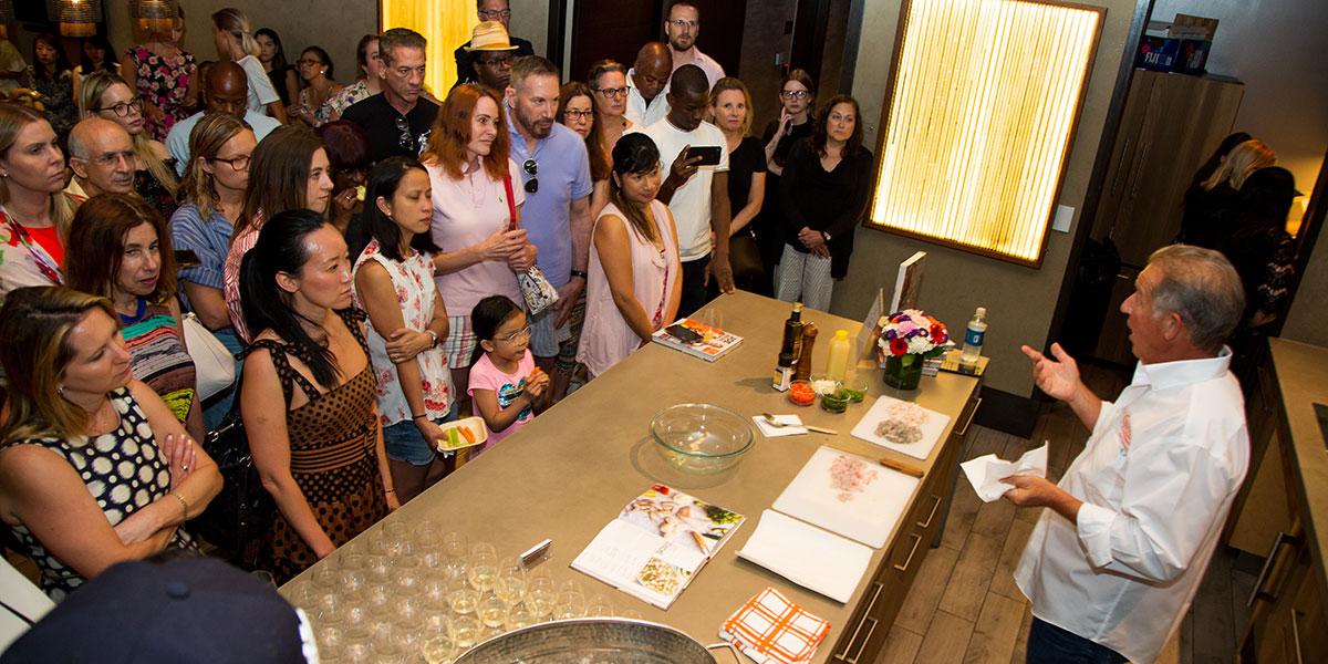 joe gurrera, joe gurrera citarella, cooking demonstration