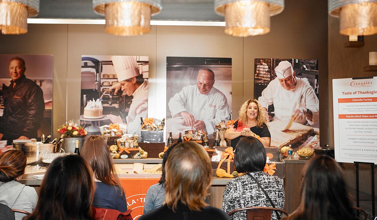 citarella thanksgiving, citarella cooking demo, citarella thanksgiving
