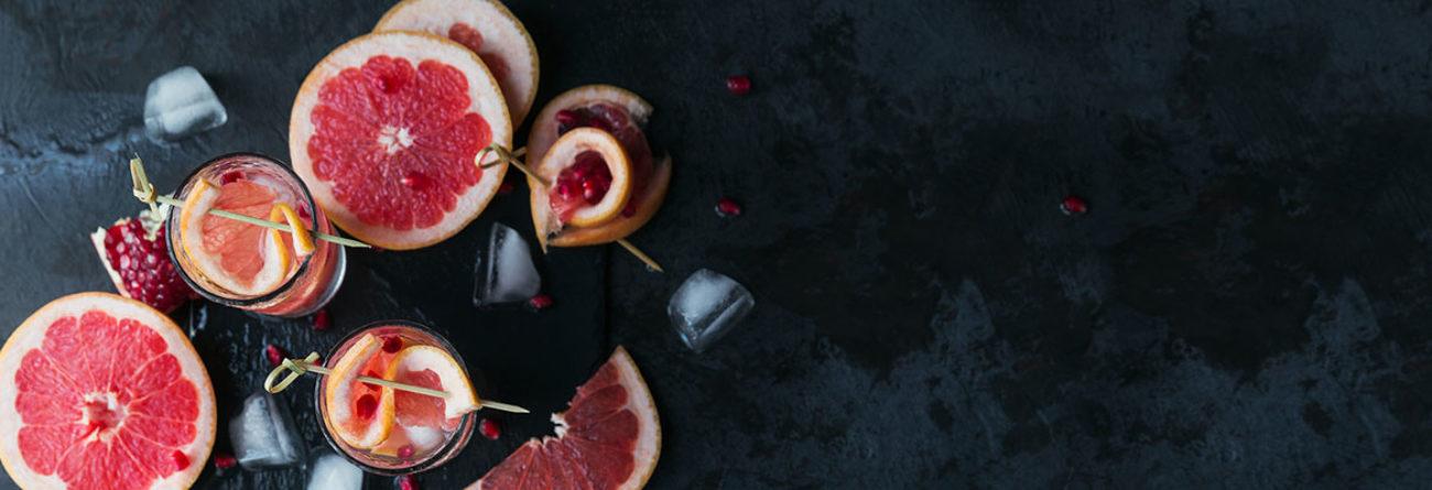 grapefruit drinks, grapefruit cocktails, mocktail recipes