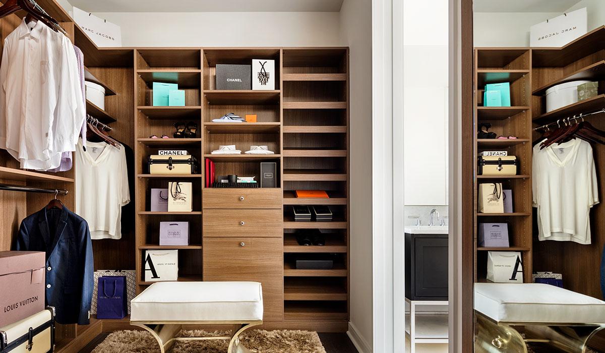closet, organized closet, new years resolutions