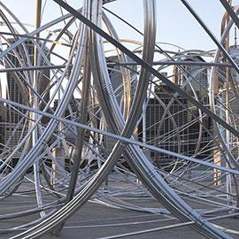 Antony Gormley's New York Clearing, brooklyn bridge park, brooklyn bridge park art