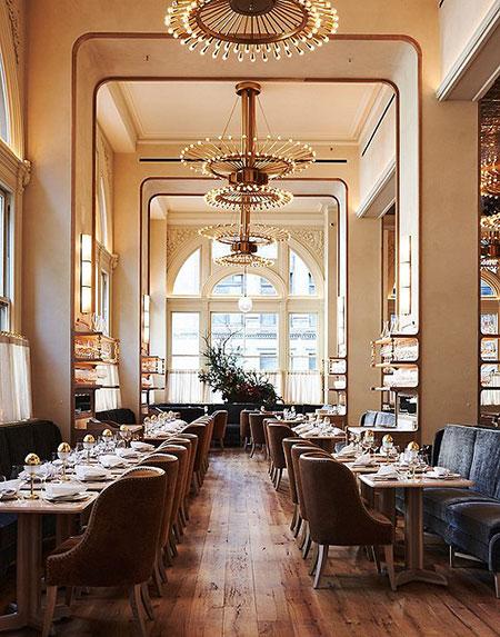 Verōnika, veronika restaurant, veronika interiors
