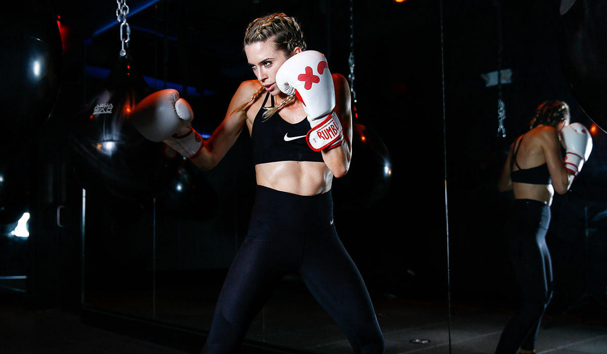 rumble fitness, rumble studio, rumble boxing