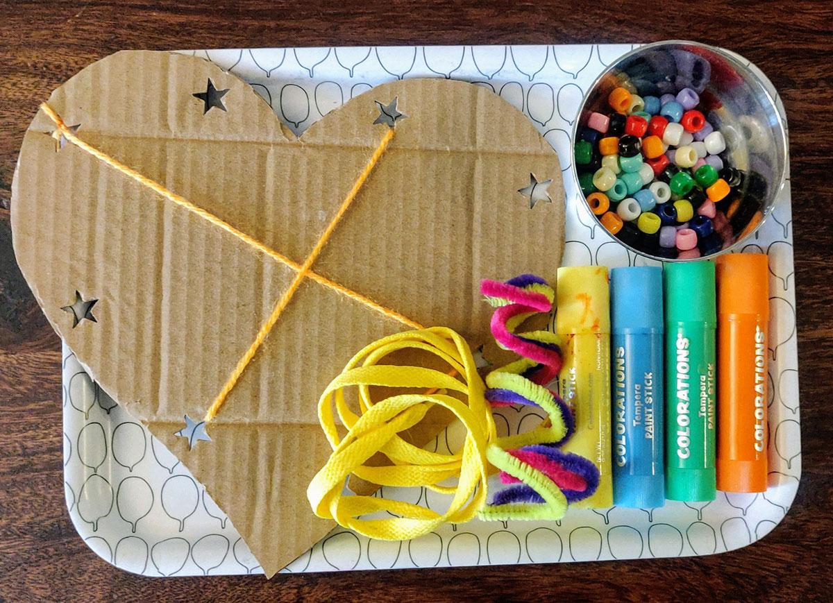 crafts, cardboard crafts, cardboard dream catchers