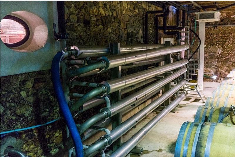 wine crushing, wine crushing machine