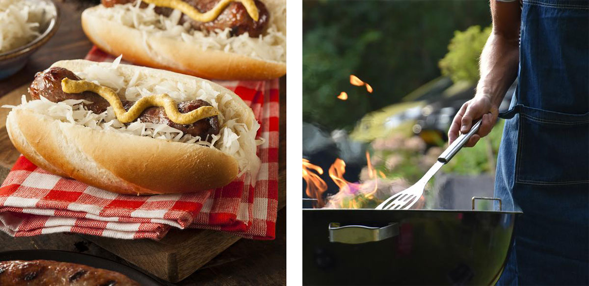 hotdog, grilling, grilling hotdog