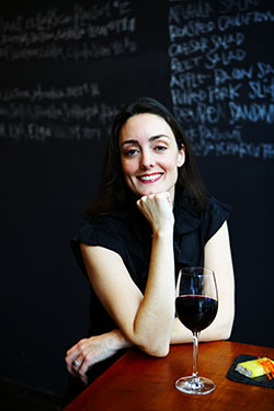 Mandy Oser, ardesia wine bar