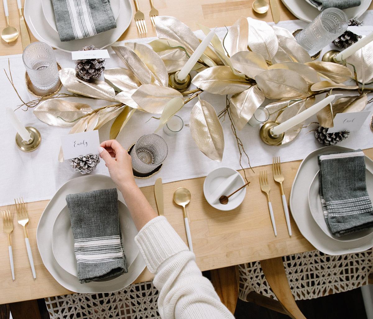 tablescape, tablescape party rental, silver tablescape