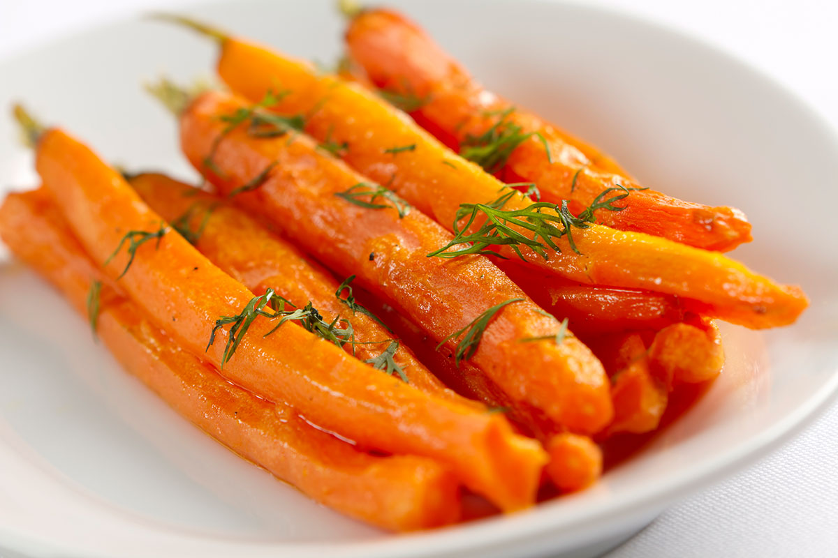 roasted carrots, roasted carrots with dill