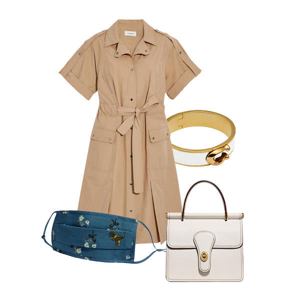 hudson yards, hudson yards fashion, coach outfit