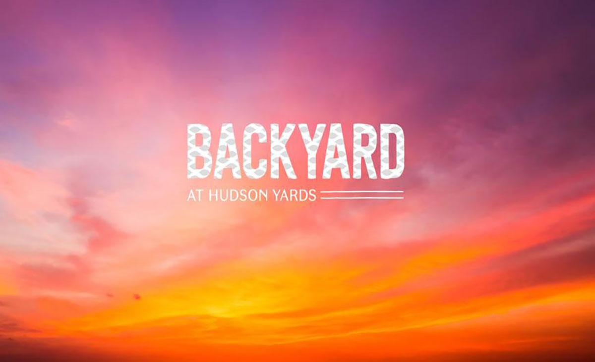 backyard at hudson yards