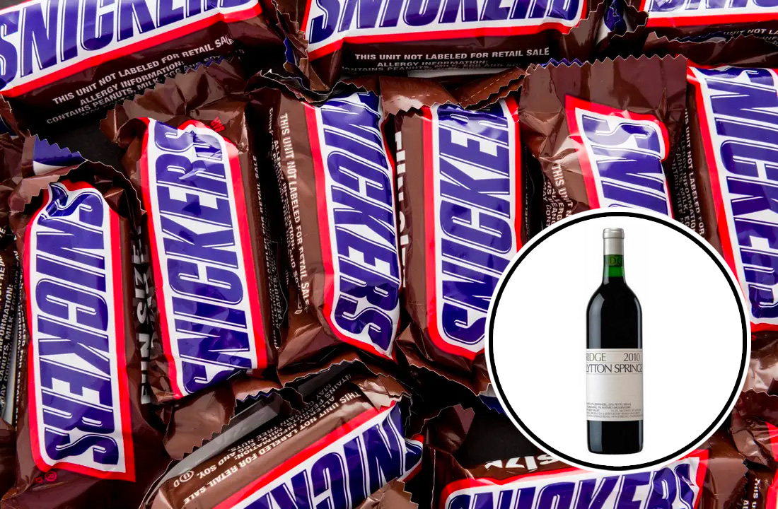 snickers, snickers wine