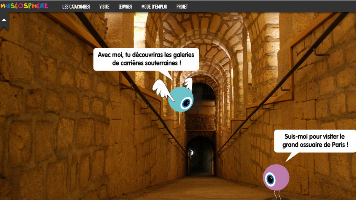 catacombs, catacombs virtual tour