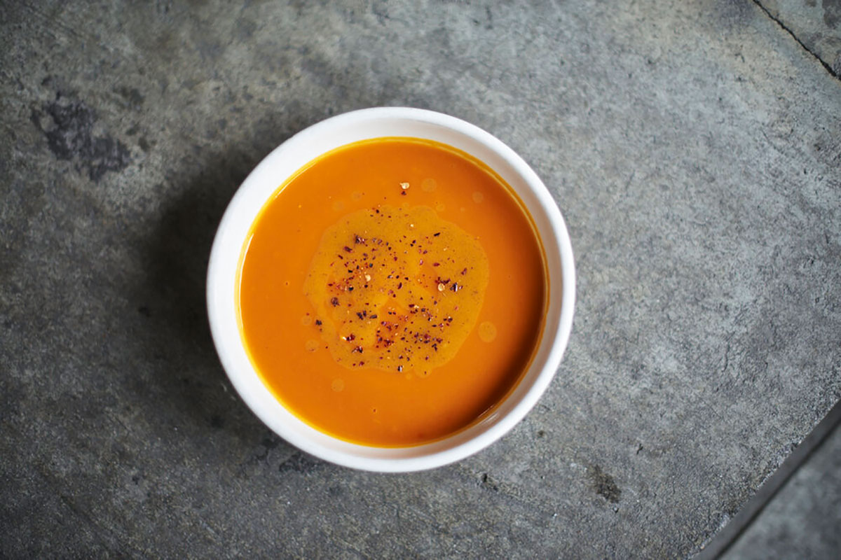 honeynut squash soup, honeynut soup