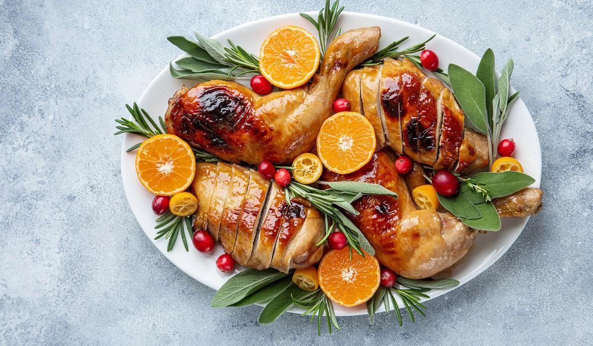 Roasted Sage-Butter Chicken