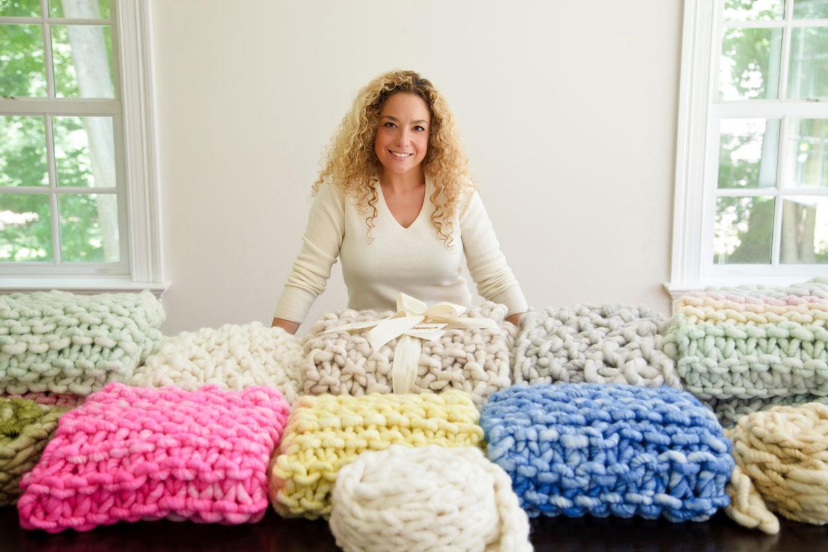 it's a yummy knitting, knitting